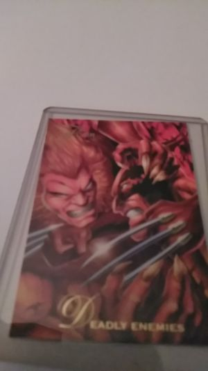 Flair #53 *Deadly Enemies *Sabretooth vs Wolverine for Sale in Shelton, CT