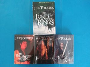 Lord of the Rings - JRR Tolkien Three Volume Edition for Sale in Bell, CA