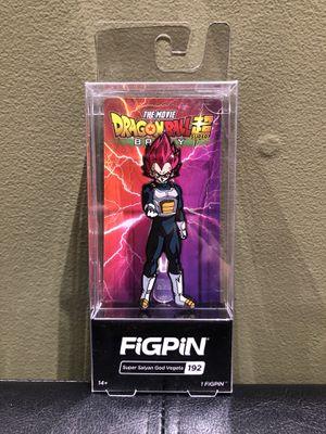 Dragon Ball Z SSG Vegeta FigPin for Sale in Bethlehem, PA