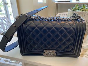 Chanel boy bag with certificate for Sale in Renton, WA