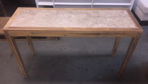 New Console Table with Grey Wash Wood Finish for Sale in Columbia, SC