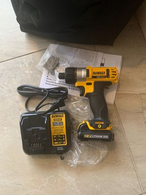 New 12V drill $60 PRICE IS FIRM for Sale in North Las Vegas, NV