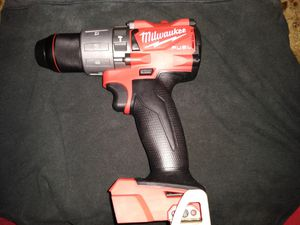 New! Milwaukee fuel brushless1/2 inch hammer drill driver for Sale in Tampa, FL