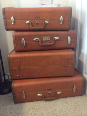 Four Antique Samsonite suitcases for Sale in Payson, AZ