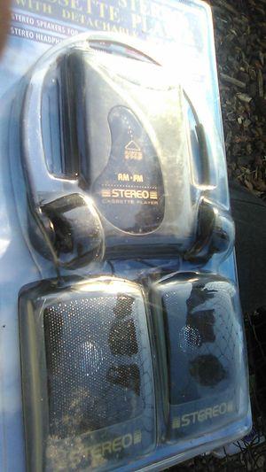 Walkman radio with speakers for Sale in Oceanside, CA