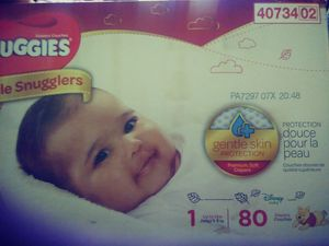 Huggies diapers size 1 and newborn kidgets for Sale in Reedley, CA