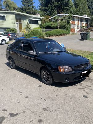 2001 Hyundai Accent coupe for Sale in Seattle, WA