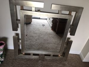 Home goods 3ft by 3 ft hanging mirror for Sale in Stevensville, MD
