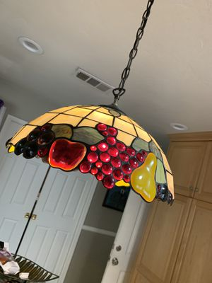 Tiffany style – kitchen hanging lamp for Sale in La Mesa, CA