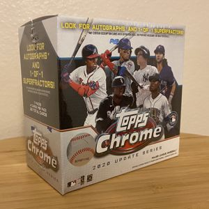 2020 Topps Chrome Update for Sale in Fountain Valley, CA