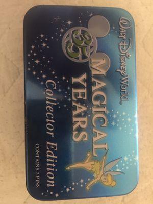 Walt Disney World 35 Magical Years Mystery 2 Pin Tin for Sale in Scottsdale, AZ