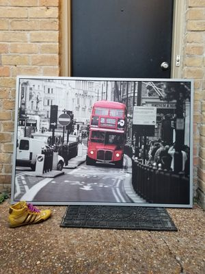 Framed Photo 55x33.5 inches. for Sale in Houston, TX