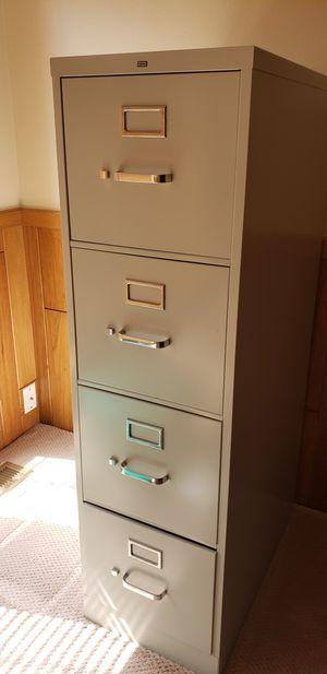 Filing cabinet, metal beige for Sale in Beaverton, OR