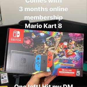 New Nintendo Switch Mario Kart Online Bundle for Sale in Miami, FL