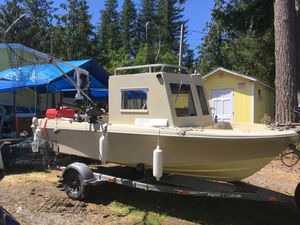Pacific Rim Boat and King Trailer 16 foot for Sale in Gold Bar, WA