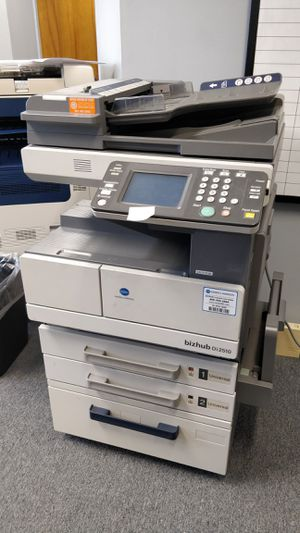 Konica Minolta bizhub Di2510 error: cof32 black and white commercial/office printer for Sale in Houston, TX