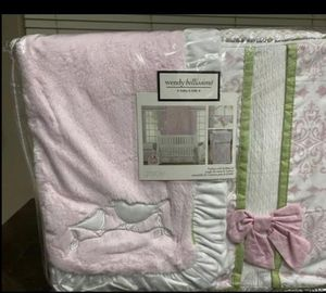 Baby girl crib bedding for Sale in Phoenix, AZ