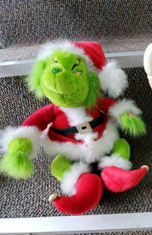 Grinch stuffed animal Christmas for Sale in Kent, WA