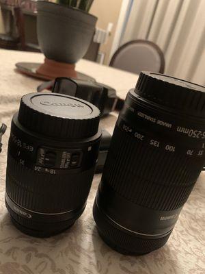 Cannon camera 80d for Sale in Corona, CA