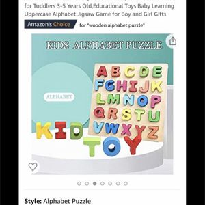 26 Alphabet Letters, ABC Puzzles Board Good Condition price firm $10. for Sale in San Diego, CA