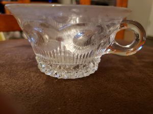 Beautiful small vintage glass cup for Sale in Stow, OH