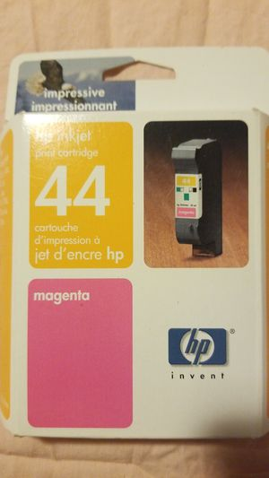 Hp inkjet print cartridge 44 magenta for Sale in Brea, CA
