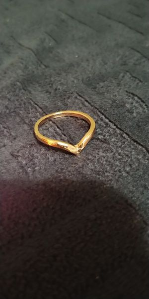 Gold colour ring size 6.5 for Sale in Victorville, CA