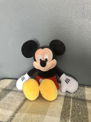 Disney Mickey Mouse plush stuffed animal for Sale in Compton, CA
