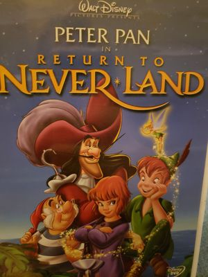 Peter Pan in Trturn To Never*Land DVD for Sale in Portland, OR