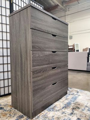 5-Chest Drawer, Distressed Grey for Sale in Santa Ana, CA