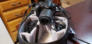 Nikon D5000 Kit. for Sale in Randolph, MA