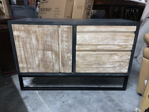 Brand New Rustic Industrial Sideboard TV Stand for Sale in Virginia Beach, VA
