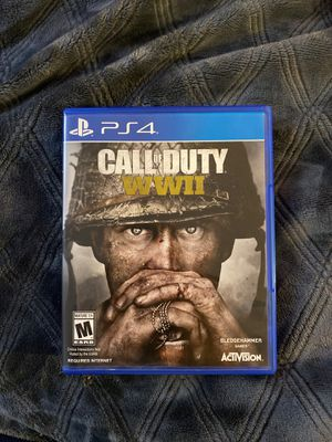 PS4 Call of duty ww2 for Sale in Bakersfield, CA
