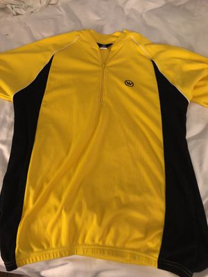 Canari Yellow Leader Cycle Jersey Mens Large for Sale in Washington, DC