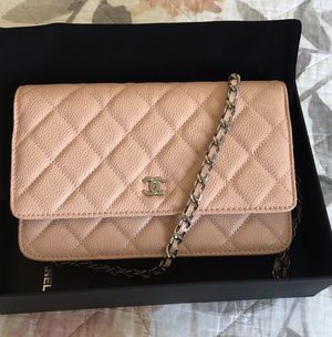 Nude color caviar leather chanel bag for Sale in Johns Creek, GA