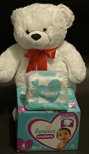 PAMPERS AND WIPES for Sale in Clarksville, TN