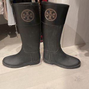 Tory Burch Rain Boots for Sale in Pompano Beach, FL