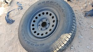 Spare tire n rim for chevy 6 lug for Sale in Las Vegas, NV