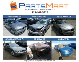 BMW 740i, 745i li, 330ci, Z3, Z4, X5, 525i, Used OEM Parts for Sale in Tampa, FL
