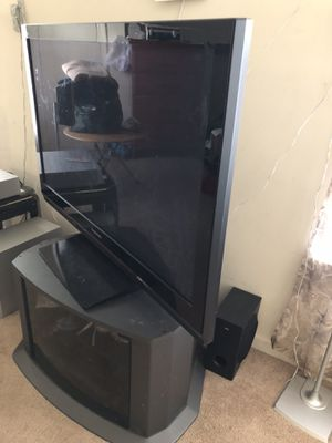 Panasonic TV and Tv stand for Sale in Manassas, VA