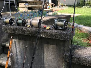 Saltwater fishing rods and reels for Sale in Milford, CT