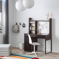 IKEA Micke Desk With Hutch -black for Sale in Seattle,  WA