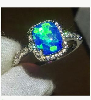 STAINLESS STEEL OPAL RING for Sale in Lawton, OK