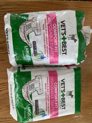 Diapers for female dog for Sale in Akron, OH