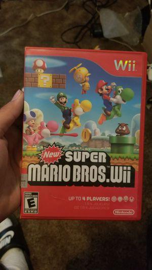 Super Mario Bros Nintendo Wii Video Game for Sale in Long Beach, CA