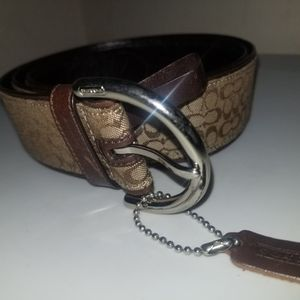 Tan & Brown Coach Belt for Sale in District Heights, MD