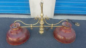 Antique Pool Table Light for Sale in Chino, CA