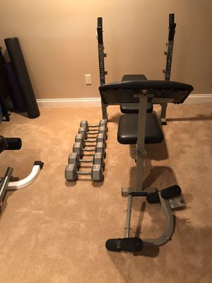 Weight Bench and Weights for Sale in Bellevue, WA