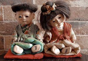 ichimatsu dolls antique. for Sale in East Los Angeles, CA