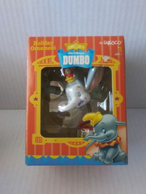 Enesco Disney Dumbo Christmas Ornaments With Clip-On Motion in Box for Sale in Wilmington, CA